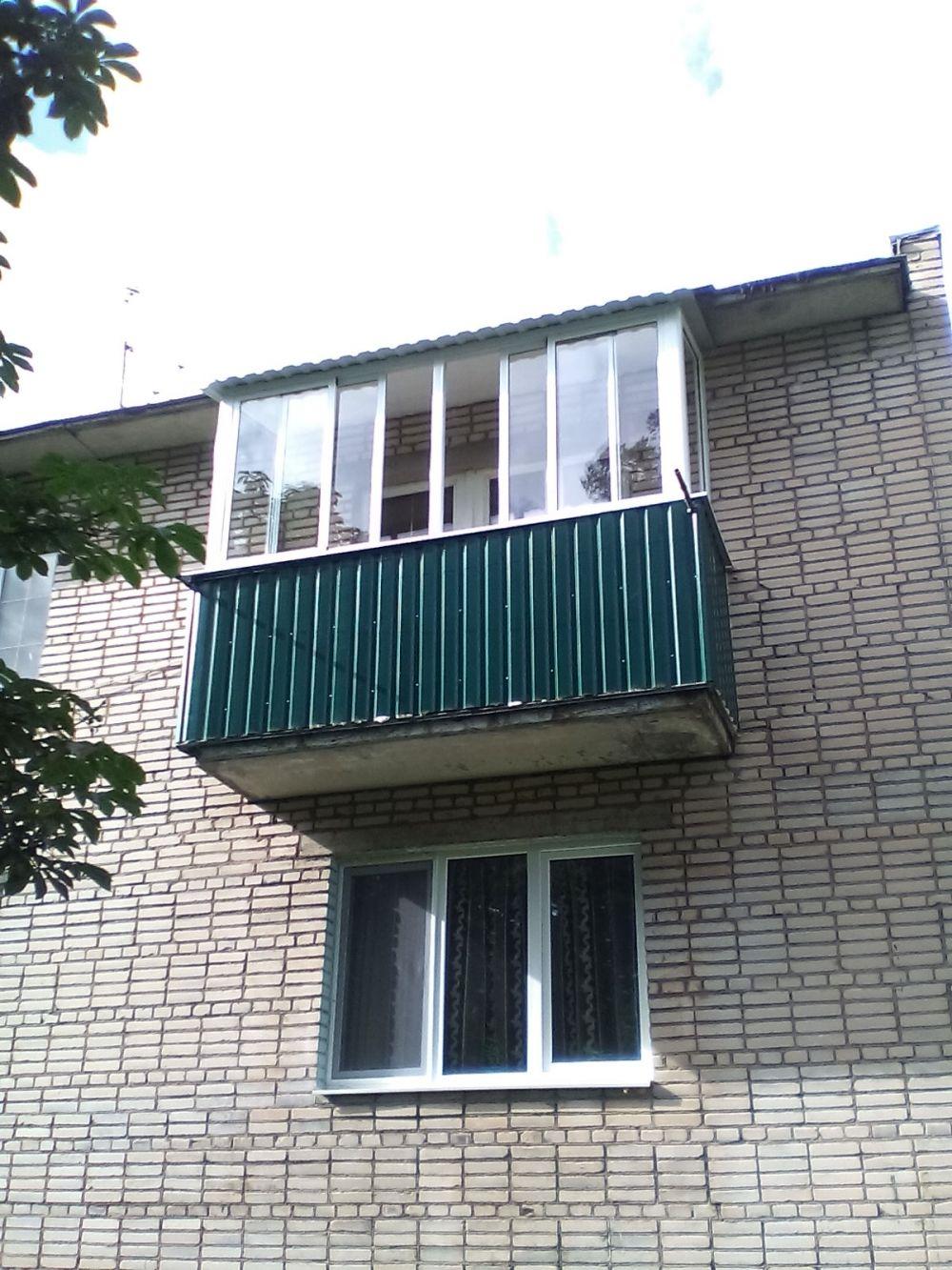 Балконные окна, окна в гусь хрустальный.